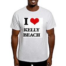I Love Kelly Beach T-Shirt