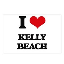 I Love Kelly Beach Postcards (Package of 8)