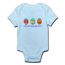 Your Message Easter Eggs Body Suit