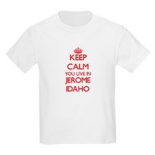 Keep calm you live in Jerome Idaho T-Shirt