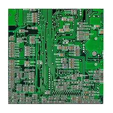 Circuit Board Tile Coaster