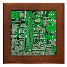 Circuit Board Framed Tile