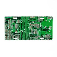 Circuit Board Aluminum License Plate