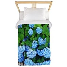 Blue Hydrangeas Twin Duvet