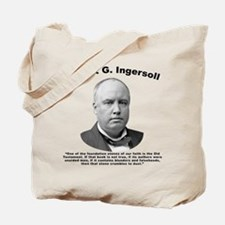 Ingersoll: OldTest Tote Bag