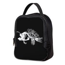 Angler Fish Neoprene Lunch Bag