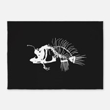 Angler Fish 5'x7'Area Rug