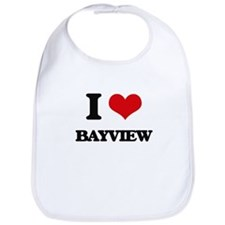 I Love Bayview Bib