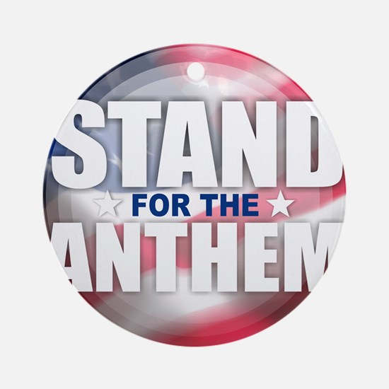 Stand for the Anthem Round Ornament