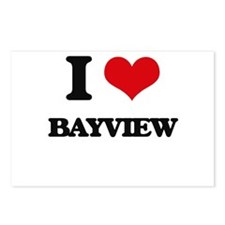 I Love Bayview Postcards (Package of 8)