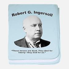 Ingersoll: Heroes baby blanket