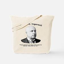 Ingersoll: Heroes Tote Bag