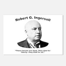 Ingersoll: Heroes Postcards (Package of 8)