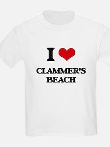 I Love Clammer'S Beach T-Shirt