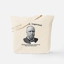 Ingersoll: Hands Tote Bag