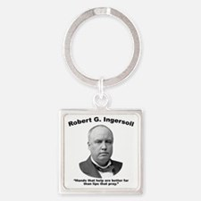 Ingersoll: Hands Square Keychain