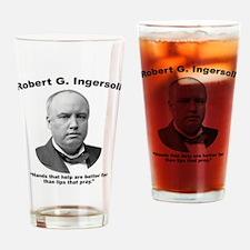 Ingersoll: Hands Drinking Glass