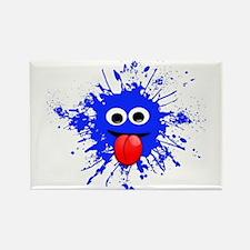 Blue Splat Dude Magnets