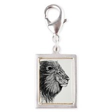Lion (Black and White) Charms