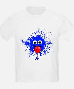 Blue Splat Dude T-Shirt