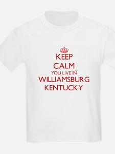 Keep calm you live in Williamsburg Kentuck T-Shirt