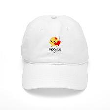 Vegan Love Baseball Cap