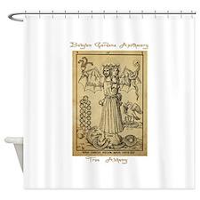 Transmutational Alchemy Shower Curtain
