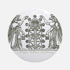 Babylonian Tree of Life and Enlightenment Ornament