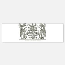 Babylonian Tree of Life and Enlightenment Bumper S