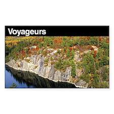 Voyageurs National Park Rectangle Decal