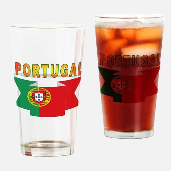 Portuguese ribbon Drinking Glass