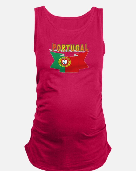 Portuguese ribbon Maternity Tank Top