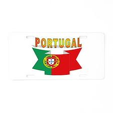 Portuguese ribbon Aluminum License Plate
