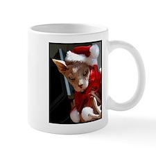Bald cat Santa Mug