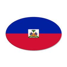 Haitian flag Wall Decal
