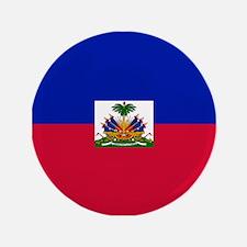 """Haitian flag 3.5"""" Button"""