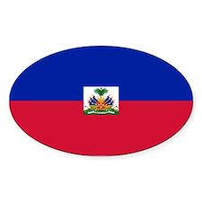 Haitian flag Decal