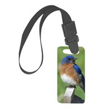 Bluebird Luggage Tag