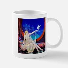 Art Deco Sultana, Dove Pinup Mugs