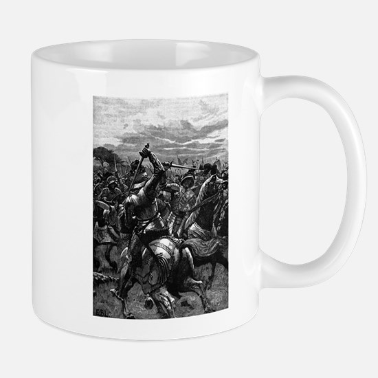 Richard III at the Battle of Bosworth Mugs