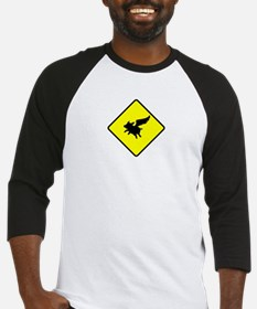 Caution: Flying Pigs Baseball Jersey