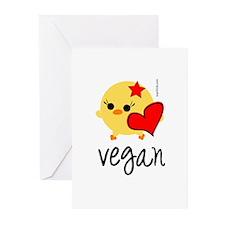 Vegan Love Greeting Cards (Pk of 10)