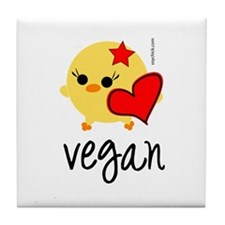 Vegan Love Tile Coaster