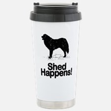 Cute Great pyrenees dog Travel Mug