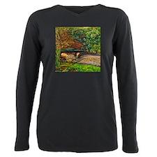 Millais: Drowning Ophelia Plus Size Long Sleeve Te