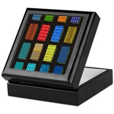 Quilt Pattern Keepsake Box