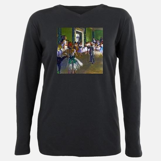 Degas - The Ballet Class Plus Size Long Sleeve Tee