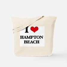 Funny Hampton beach Tote Bag