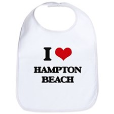 I Love Hampton Beach Bib