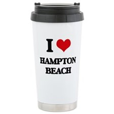 I Love Hampton Beach Travel Mug